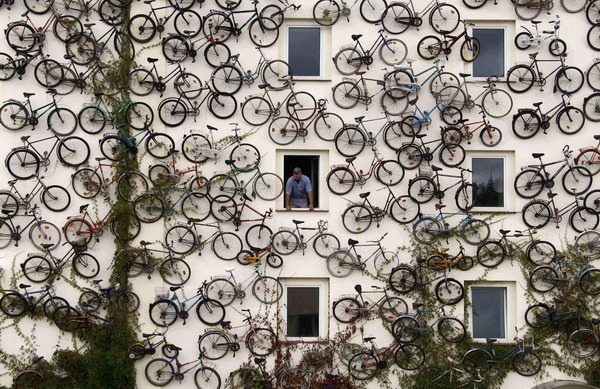 Bikes On The Wall Bldgwlf