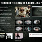 24 hrs through the eyes of a homeless person