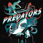 Pop Chart Lab - The Relative Sizes of Fearsome Predators T-Shirt