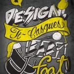 Akufen - Design, Ti-Casques & Baby-Foot Poster