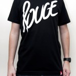 Rouge - Script T-Shirt + Keychain