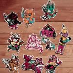 Sugar Coated - Subliminal Sticker Pack Vol.2
