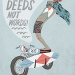 Stevie Gee – Deeds Not Words