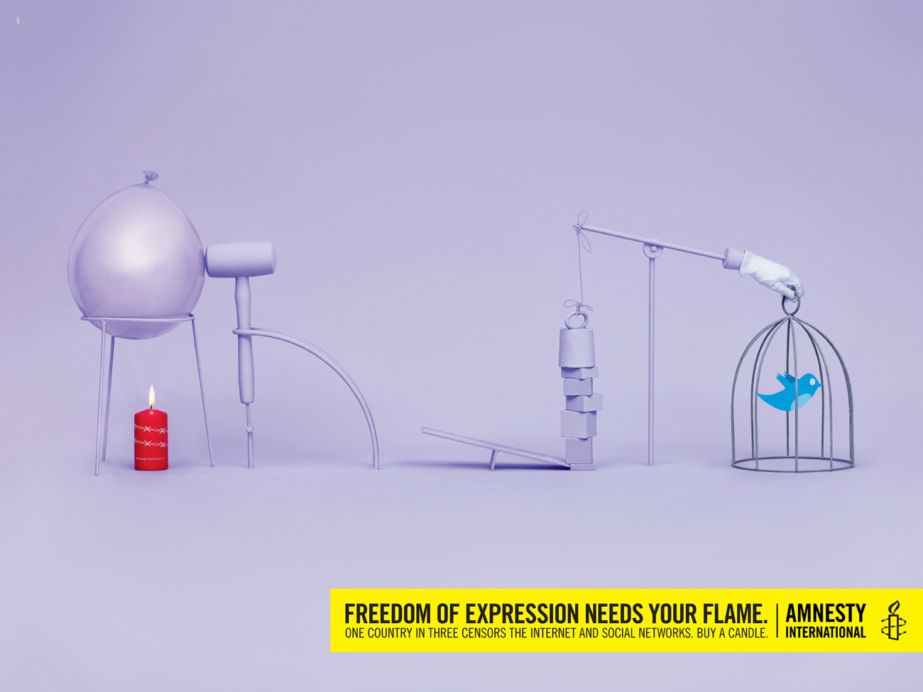 Freedom of Expression Needs Your Flame