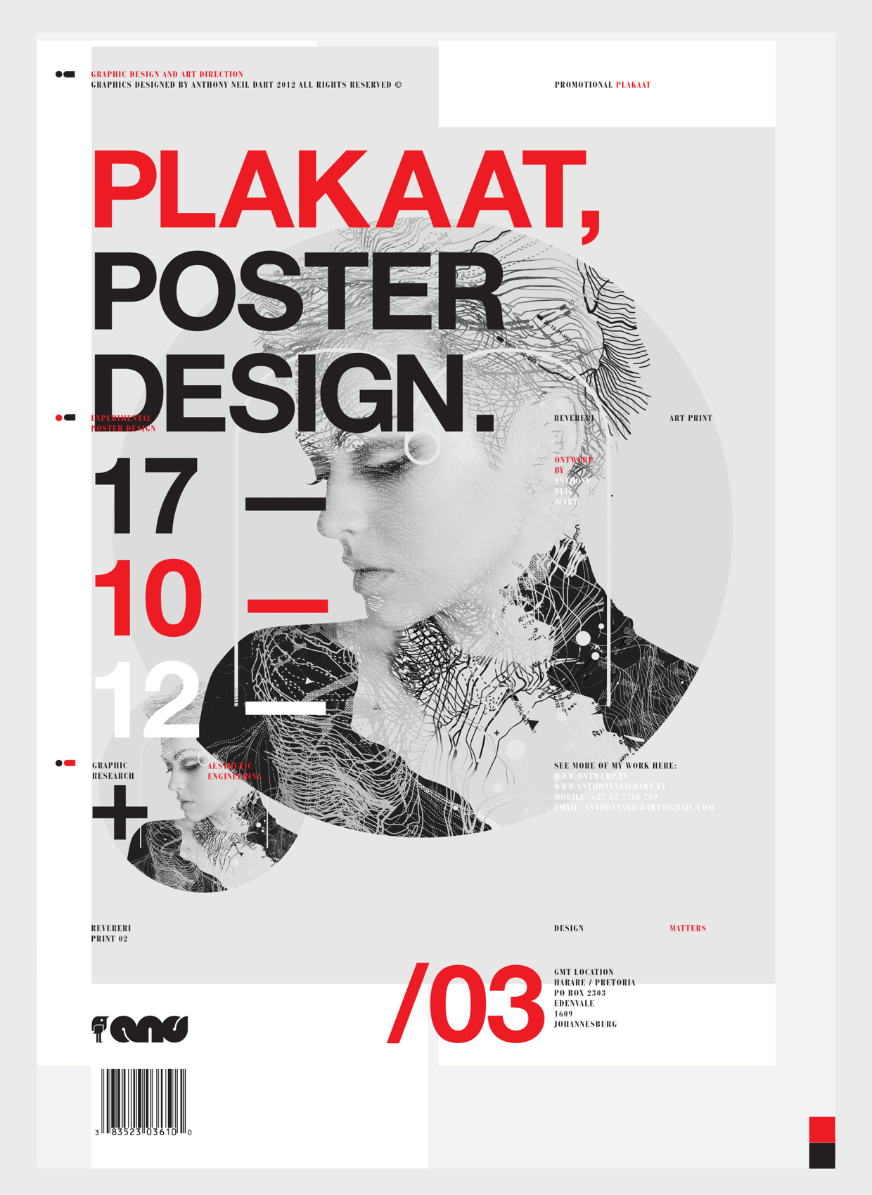 Poster design johannesburg - Plakaat A Self Promotional Series Of A3 Prints By Johannesburg Based Graphic Designer Anthony Neil Dart