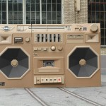 The Cardboard Ghettoblaster