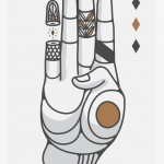 Hands and Symbols by Rodrigo Maceda del Río