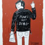 Punk's Not Dead Print by Ryan Duggan