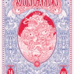 Limited Edition Poster for Soundgarden by Drew Millward