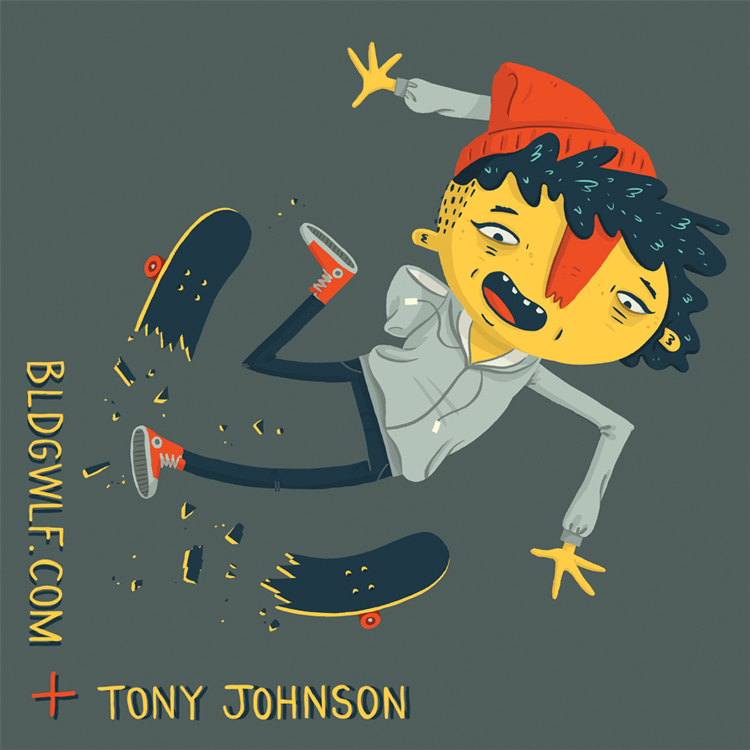 BLDGWLF x Tony Johnson