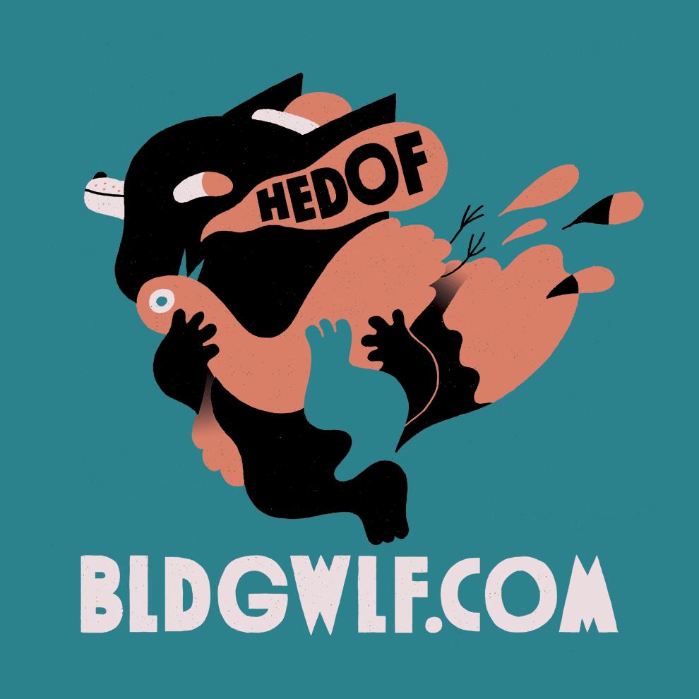 BLDGWLF x Hedof