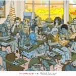 Ferris Bueller's Day Off – Illustrated Movie Print