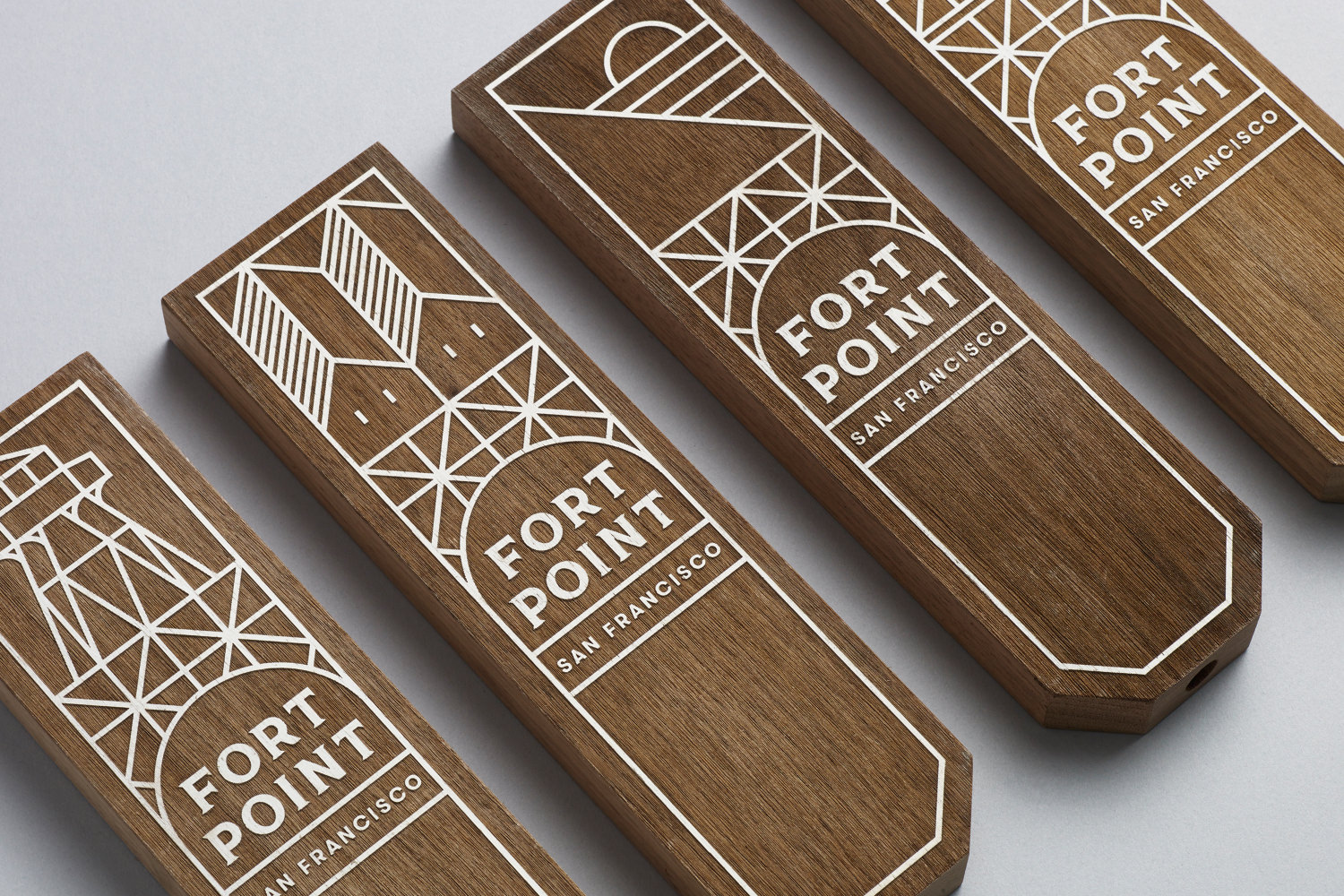 Brand identity Fort Point Beer Company